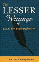 Download The lesser writing by C.M.F Von Boenninghausen